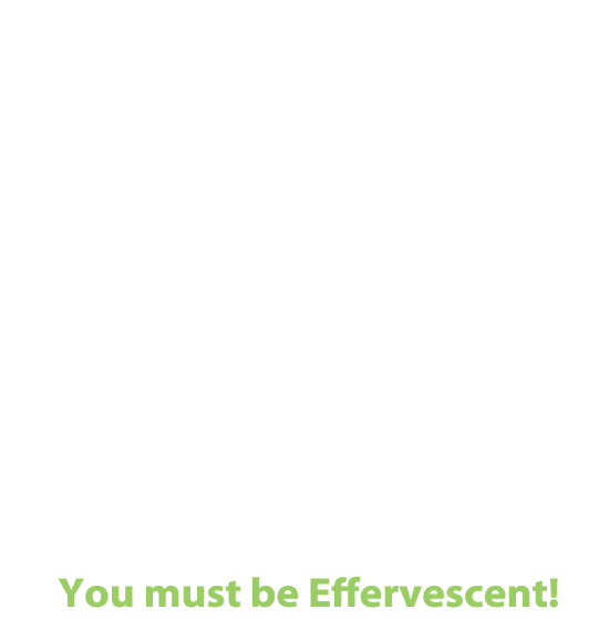 Why do certain individuals or organizations rise to the top of their fields… almost as if propelled by some powerful intrinsic force? Is it organic? Is it acquired? Could it be both? Effervesce is a unique consulting firm designed to help people and their organizations ascend to their full potential, naturally. In today's competitiveclimate,  how will you bubble up to the top of the stack? It's not enough to be competent… You must be Effervescent!